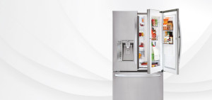 lg door in door fridge