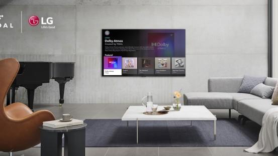 Ανώτερη μουσική εμπειρία με τη διαθεσιμότητα του TIDAL στις LG τηλεοράσεις
