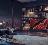 H πρώτη παγκόσμια τυλισσόμενη OLED TV από την LG