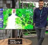 Το Πλαίσιο υποδέχεται τις νέες τηλεοράσεις QLED της Samsung