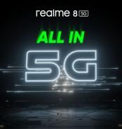 Το realme 8 5G έρχεται, φέρνοντας 5G επεξεργαστή νέας γενιάς